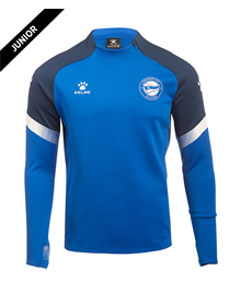 Deportivo Alavés junior official blue training Sweater, Deportivo Alavés 20/21_image