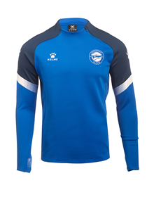 Deportivo Alavés official blue training Sweater, Deportivo Alavés 20/21_image