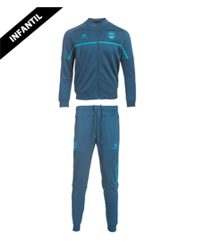 Tracksuit child official casual, Deportivo Alavés 20/21_image