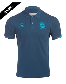Polo Shirt Junior official casual, Deportivo Alavés 20/21_image