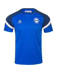 T-shirt official training blue, Deportivo Alavés 20/21_image