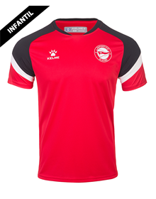 T-shirt child official training red, Deportivo Alavés 20/21_image