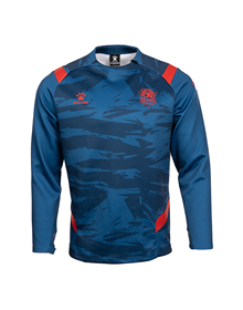 Baskonia official Blue training Sweater, 21/22_image