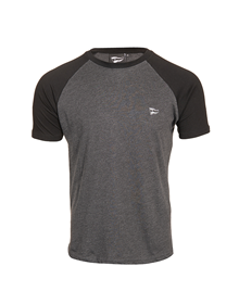 Deportivo Alavés grey with black sleeves t-shirt_image