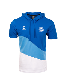 Hooded sweater  short sleeved official casual , Deportivo Alavés 21/22_image