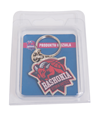 Keychain Baskonia shield with packaging