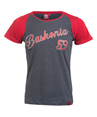 Woman Baskonia's vintage grey t-shirt