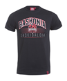 baskonia's lyrics and shield black t-shirt