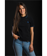 Woman's Polo shirt Deportivo Alavés, black