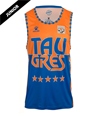 Retro jersey orange and blue from 89 90 91 season
