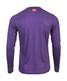 Jersey 95% Polyester 5% Elastane. V-neck, short-sleeved & regular fit. Woven crest embroidered onto the garment and thermoadhesive details. Screen-printed inscription inside collar.
