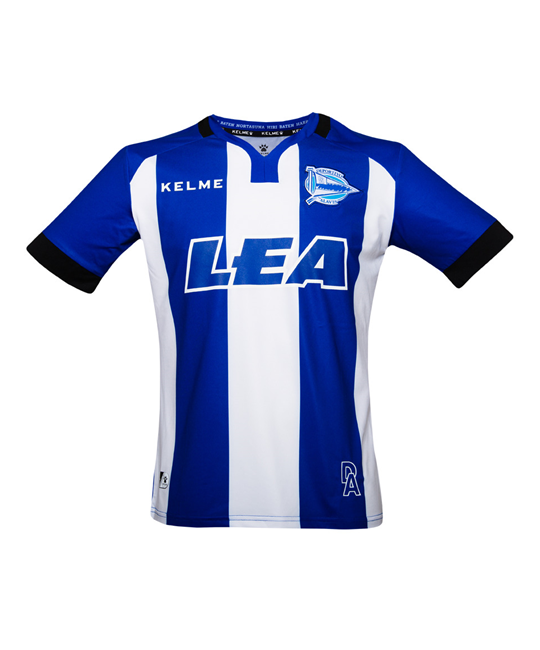 17/18 HOME ALAVÉS JERSEY - BLUE & WHITE
