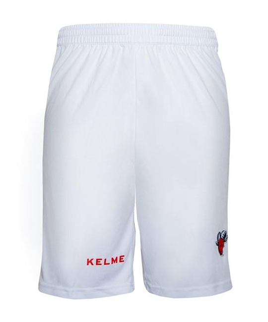 THIRD EUROLEAGUE SHORTS - WHITE & RED