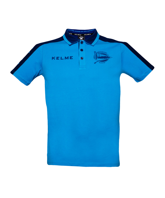 COACH POLO SHIRT - TURQUOISE & NAVY