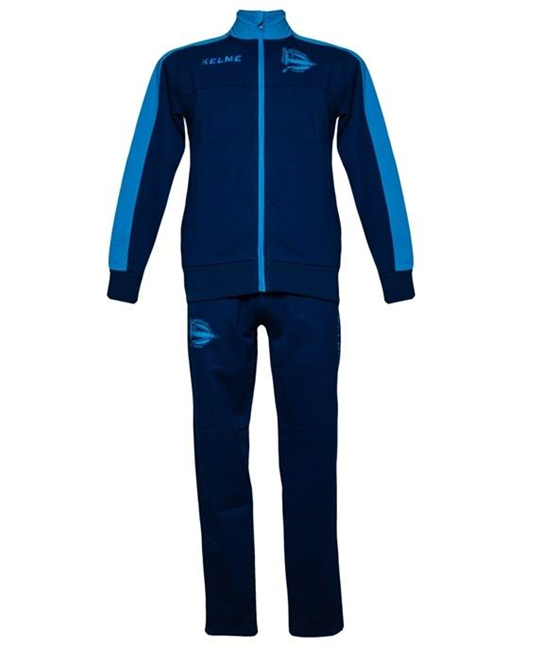 PLAYER TRACKSUIT - NAVY & TURQUOISE