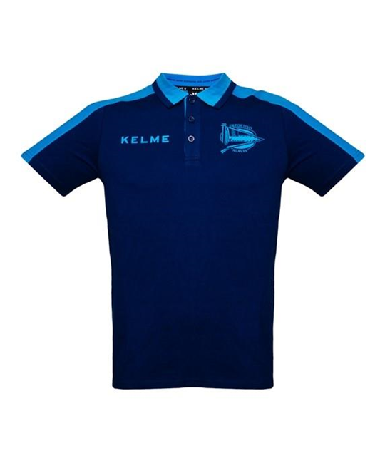 PLAYER POLO SHIRT - NAVY & TURQUOISE