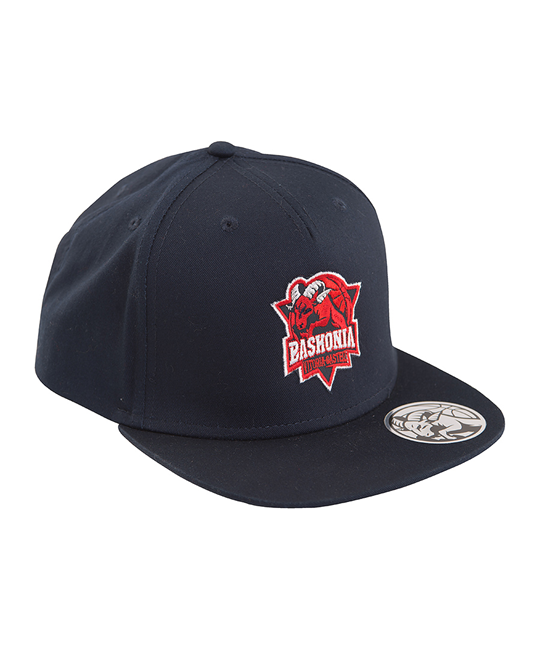 Baskonia blue snapback hat