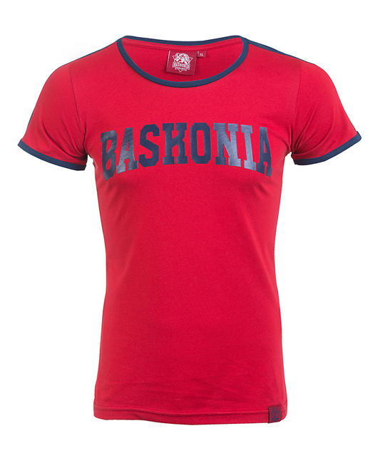 Woman baskonia's lyrics maroon t-shirt_image