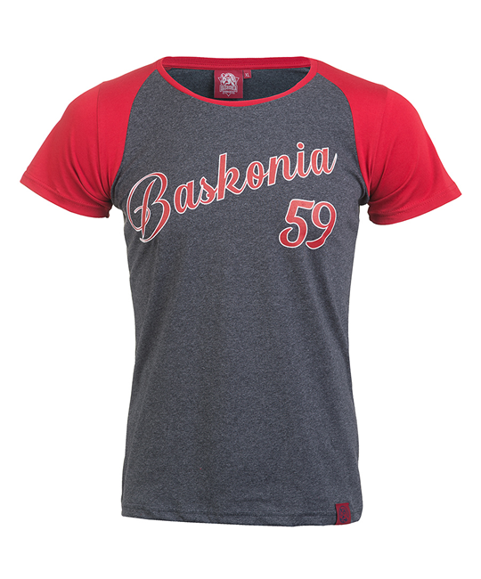Woman Baskonia's vintage grey t-shirt_image