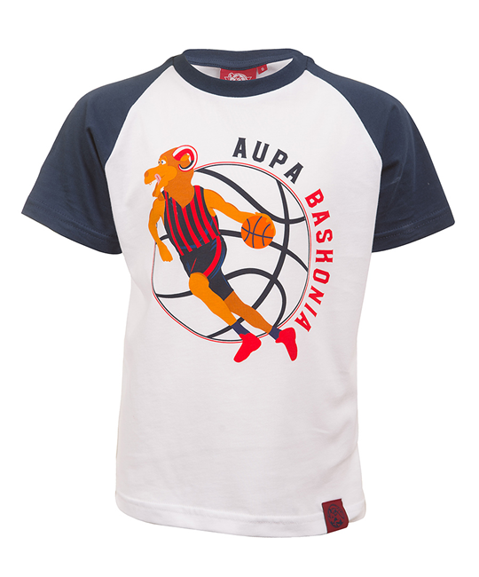 Aker's junior t-shirt blue s/s baskonia_image