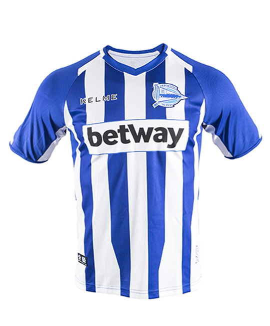 Home kit jersey blue and white, 18/19 D. Alavés_image