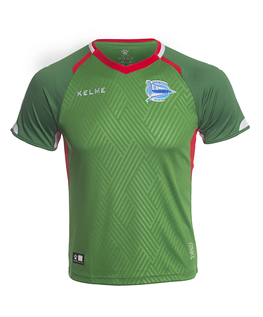 Away kit jr. jersey green, 18/19 D. Alavés_image