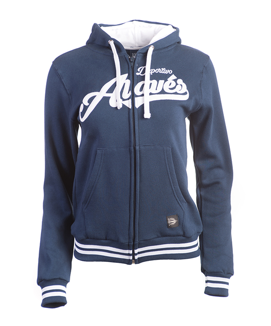 Woman Blue classic jacket Deportivo Alavés