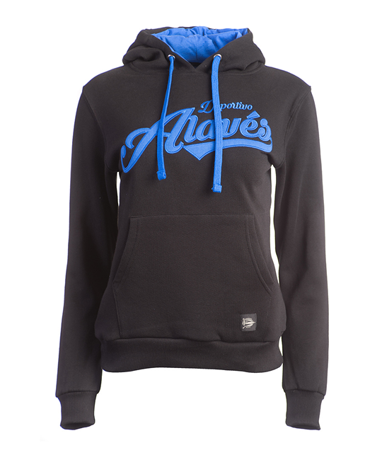 Woman Black classic hoodie Deportivo Alavés_image