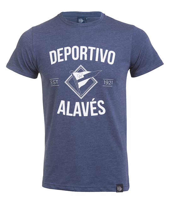 Deportivo Alavés Junior Vintage Flag T-Shirt