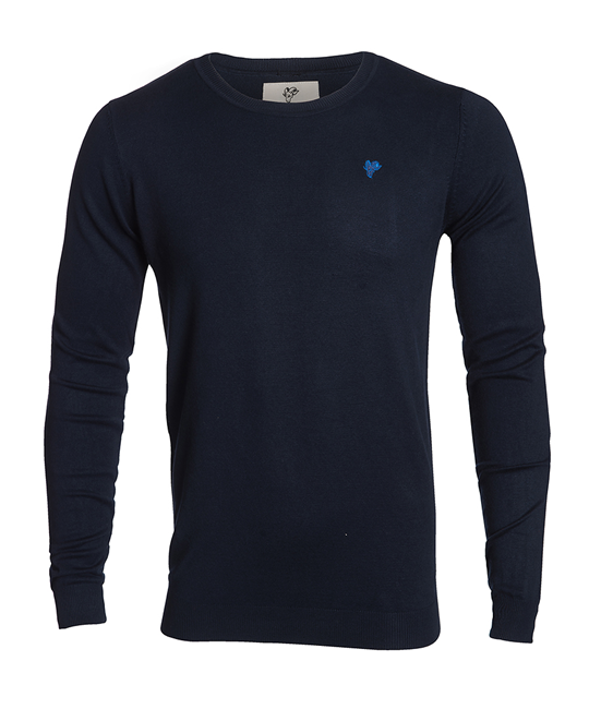 Goat sweater, blue