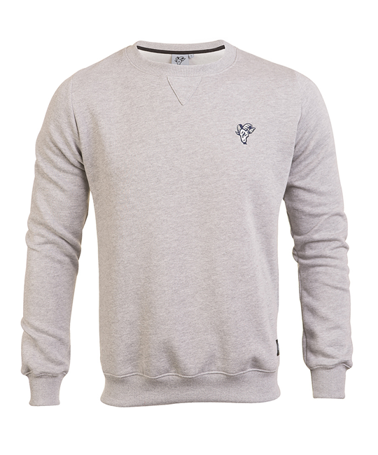 Goat's grey crewneck sweater_image