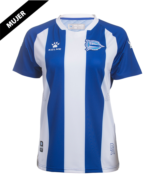Home Woman Jersey Deportivo Alavés, Kit 19/20