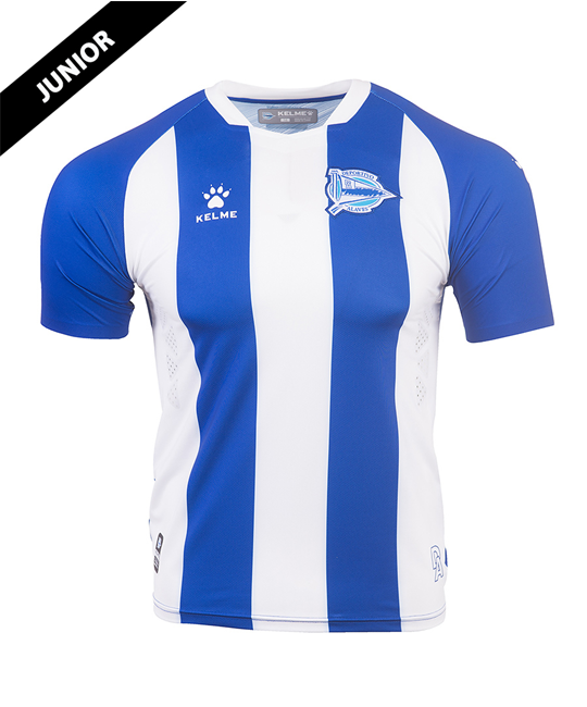 Home Junior Jersey Deportivo Alavés, Kit 19/20