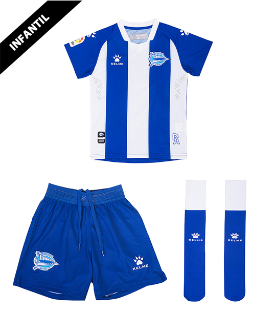 Child Home Minikit 19/20 Deportivo Alavés