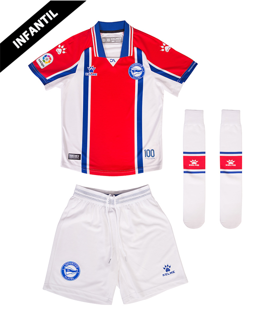 Infant Away Minikit 20/21 Deportivo Alavés