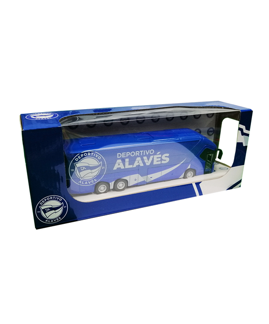 Deportivo Alavés new badge bus - Scale Back